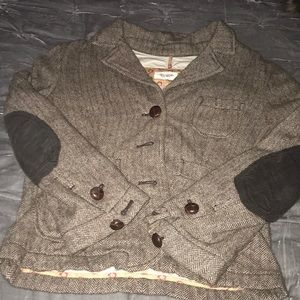 Abercrombie & Fitch Tweed Jacket